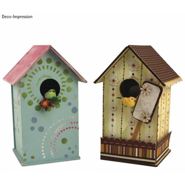 Vogelhuisje om zelf te bouwen - Hobbypakket