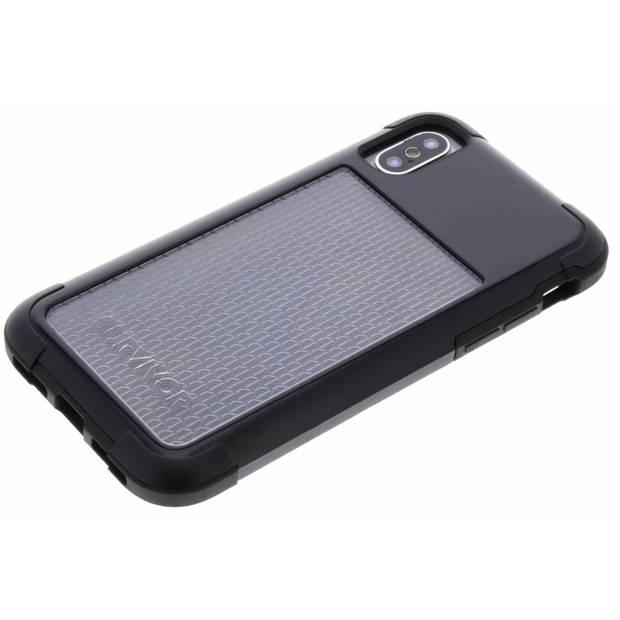Zwarte Survivor Fit Case voor de iPhone Xs / X