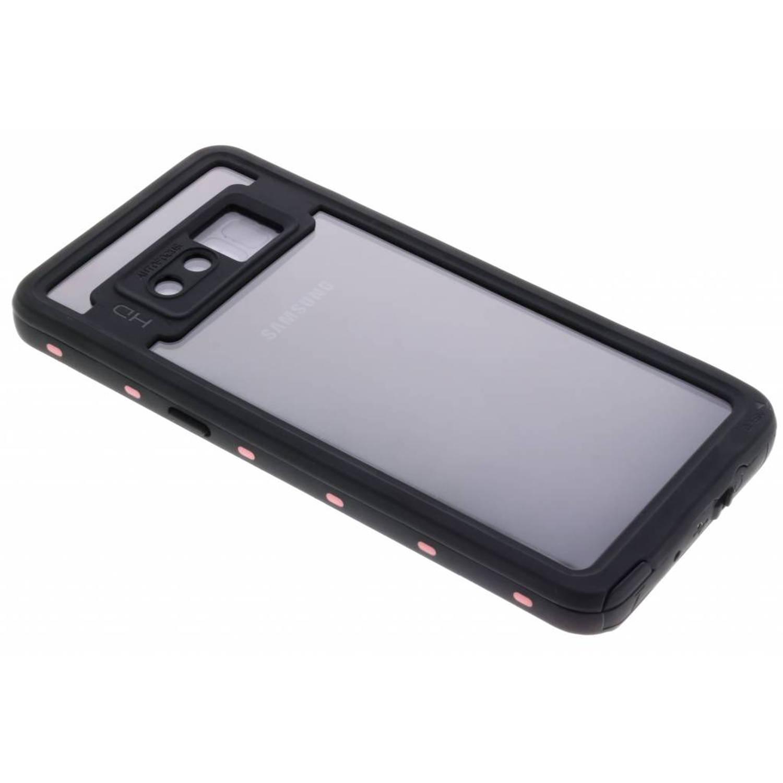 Roze Dot Waterproof Case voor de Samsung Galaxy Note 8