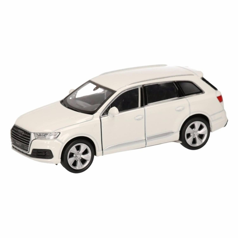 Afbeelding van Speelgoed witte Audi Q7 auto 12 cm