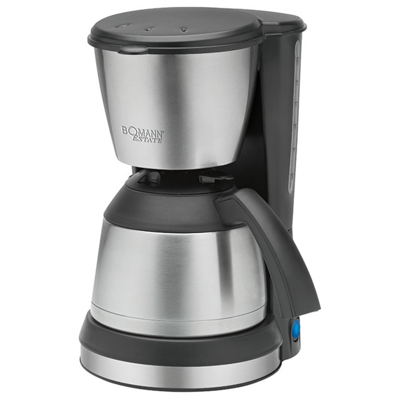 Bomann koffiezetter 800 w 1,2 l zilver ka 1370 cb