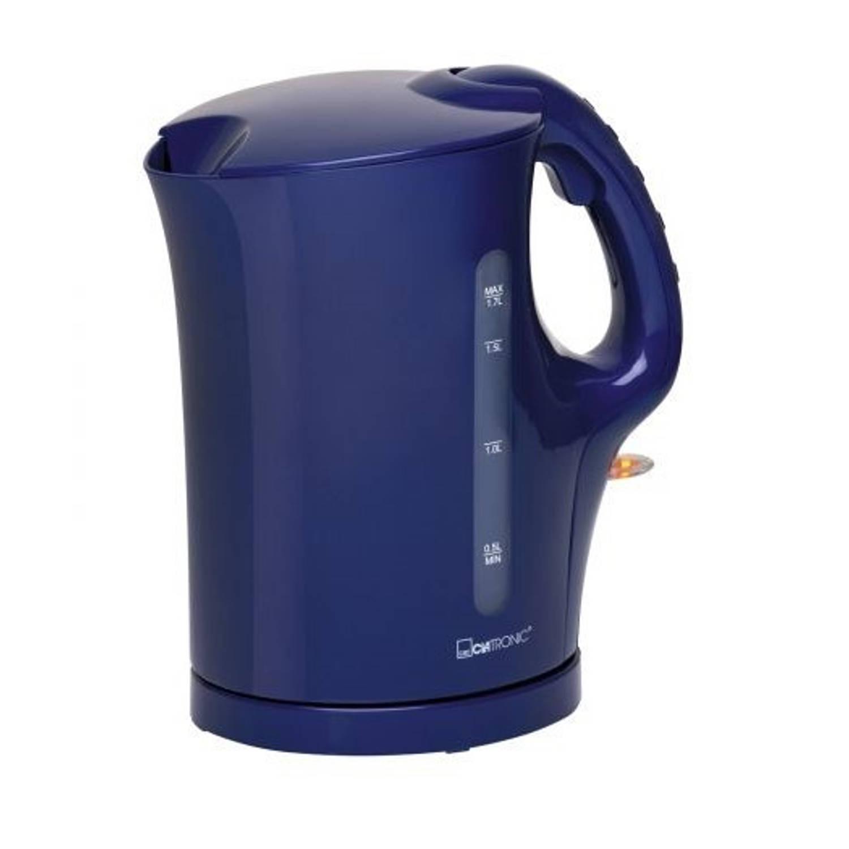 Clatronic waterkoker wk 3445 blauw