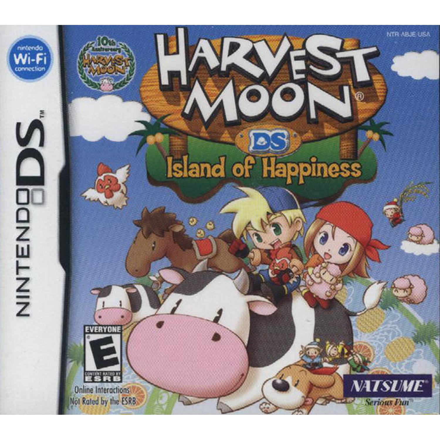Harvest Moon DS Island of Happiness