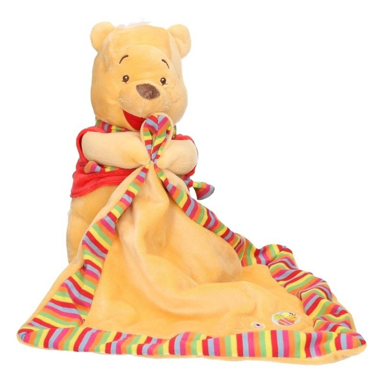 Campingbedje Winnie De Pooh.Pluche Winnie De Poeh Tutteldoekje Blokker