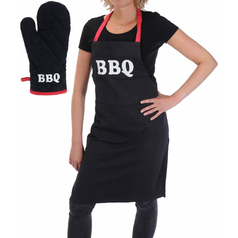 Bbq Collection Barbecue Schort En Barbecue Handschoen
