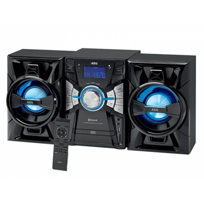 AEG Bluetooth-Music-Center CD-Mp3-USB-BT MC 4465 BT (black) AEG