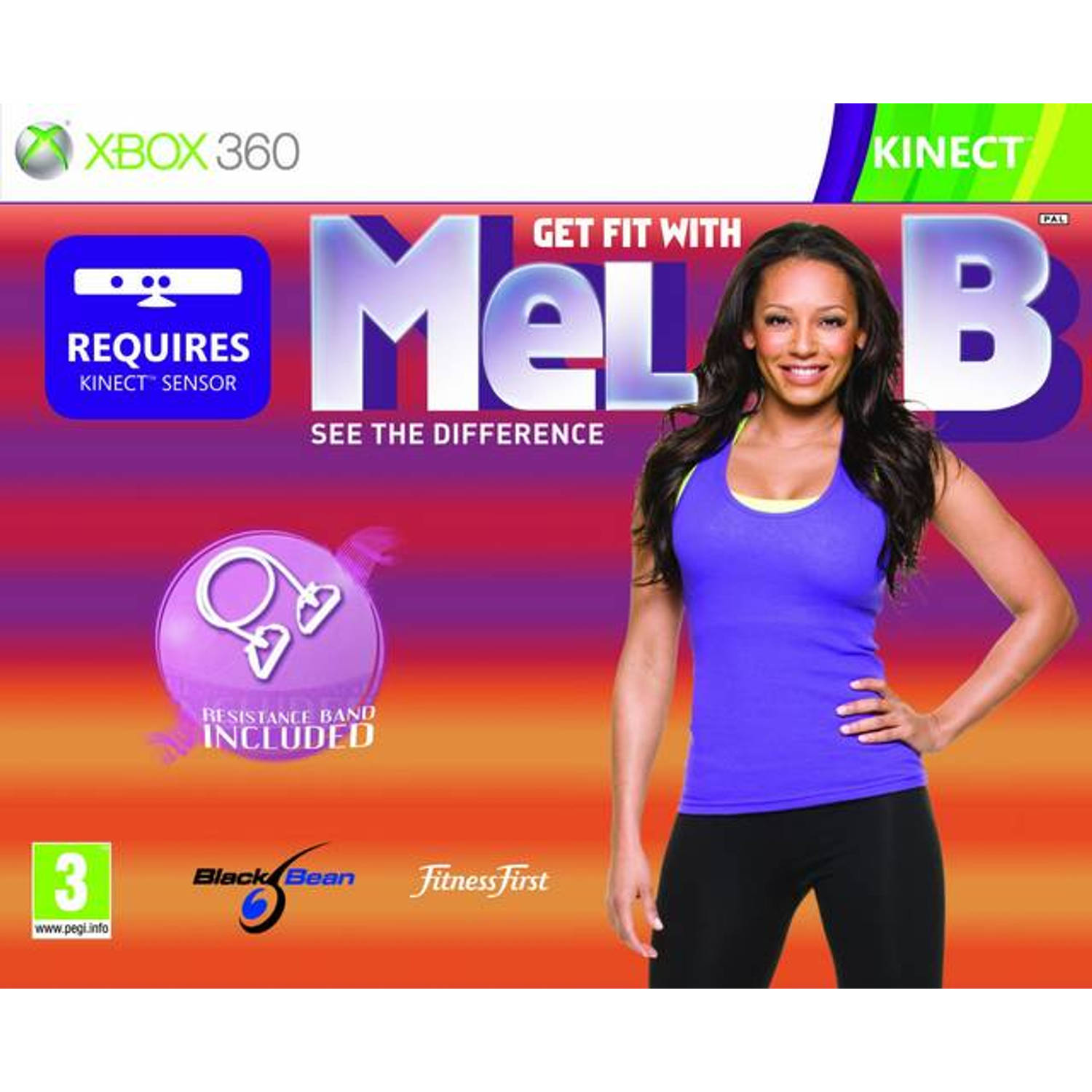 Get Fit with Mel B (Kinect) + Resistance Band