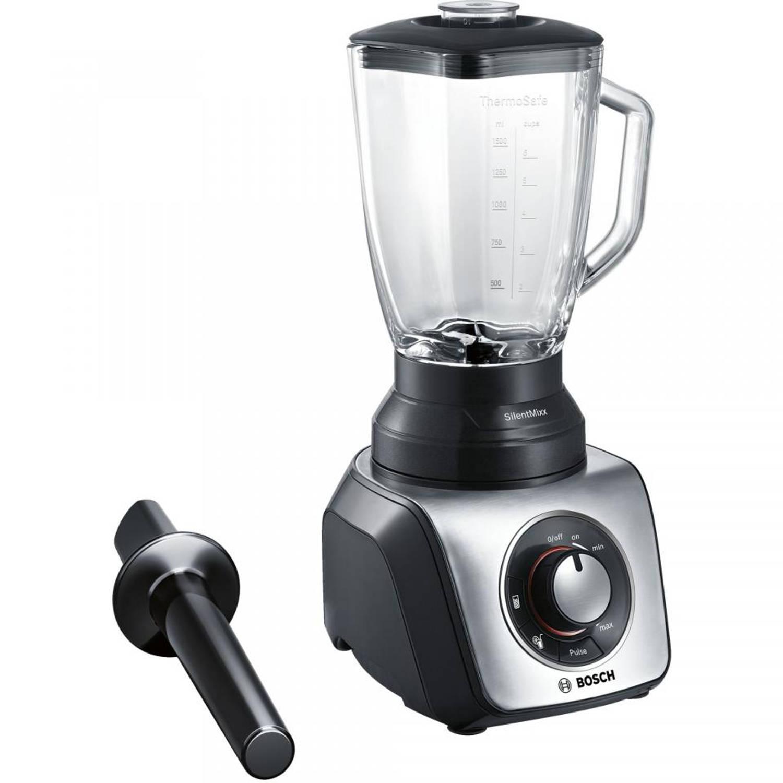 Bosch blender MMB65G5M - zwart/zilver