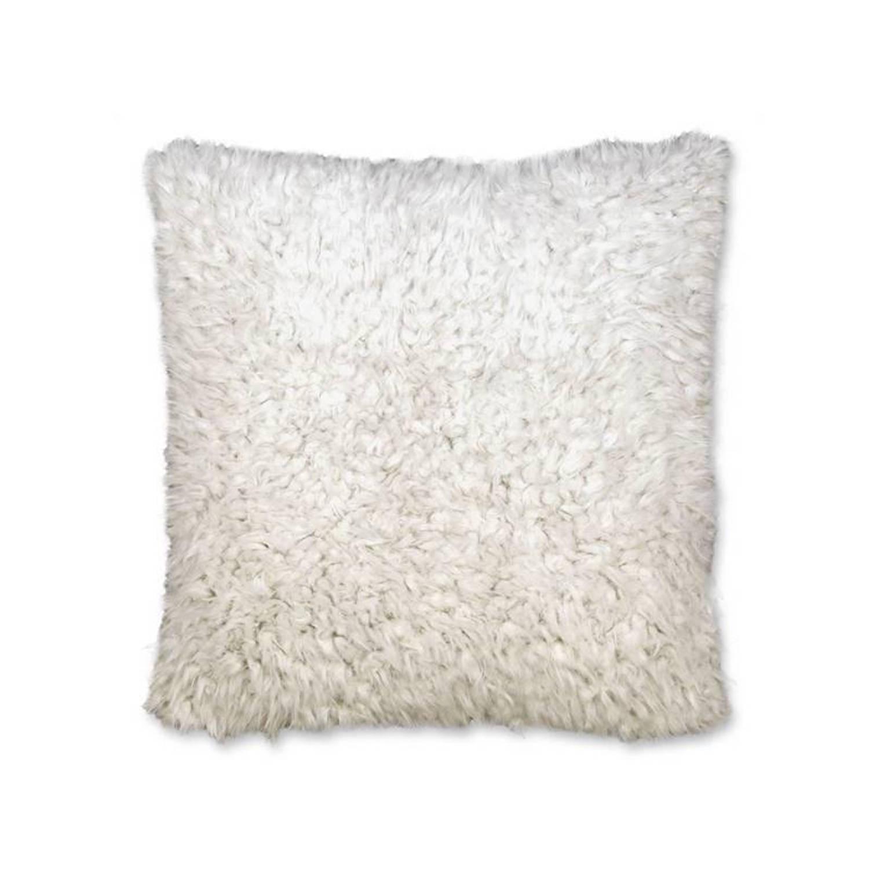 Unique Living Salvo sierkussen - 100% polyester - 45x45 cm - Ivoor