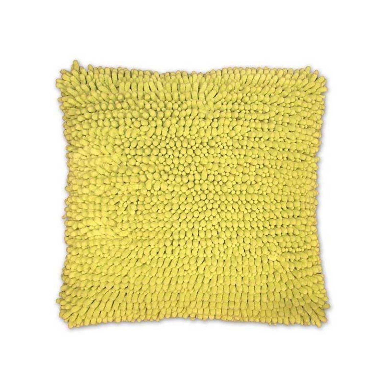 Unique Living Bo kussenhoes - 100% polyester - 45x45 cm - Lime