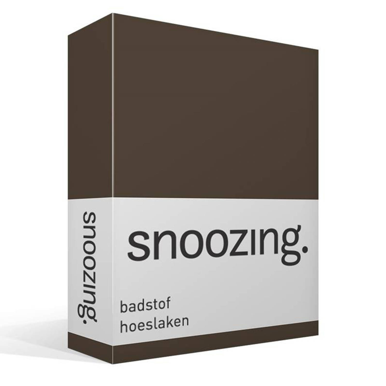 Badstof Hoeslaken 200x200.Snoozing Badstof Hoeslaken Lits Jumeaux 200x200 Of 180x200 220 Cm
