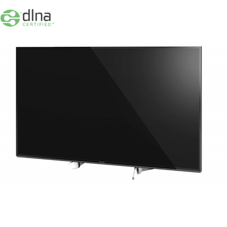 Panasonic tx-65exw604 65'' 4k ultra hd smart tv wi-fi zwart, zilver led tv