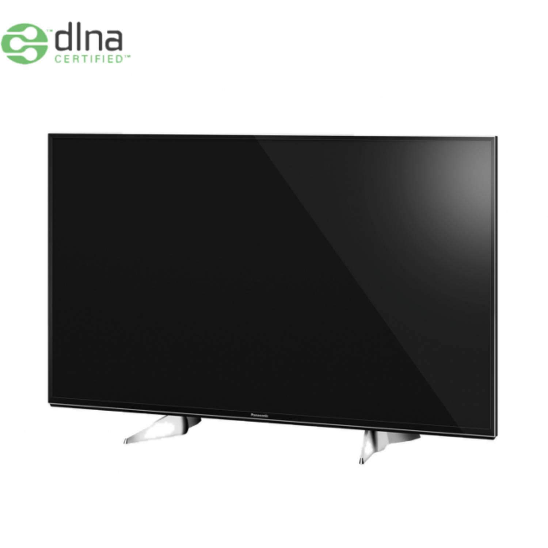 Panasonic tx-49exw604 49'' 4k ultra hd smart tv wi-fi zwart, zilver led tv