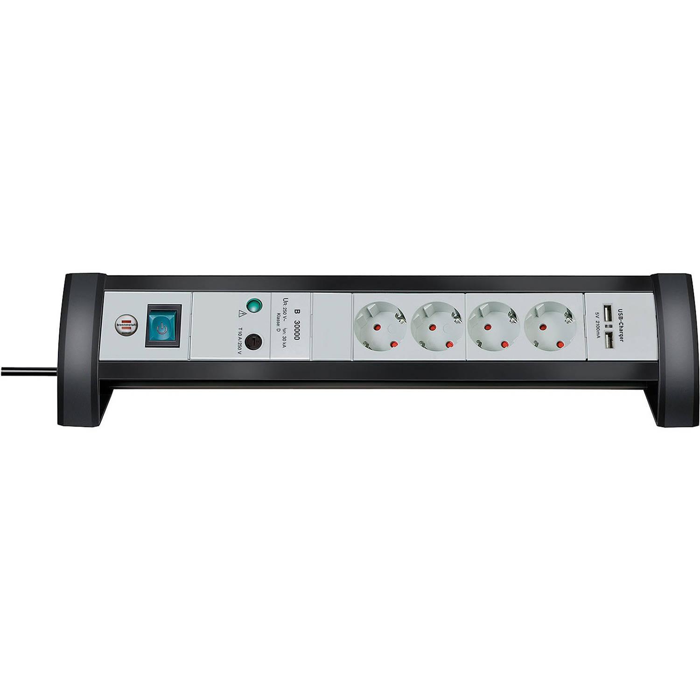 Premium-Office-Line 4-voudige stekkerdoos met USB