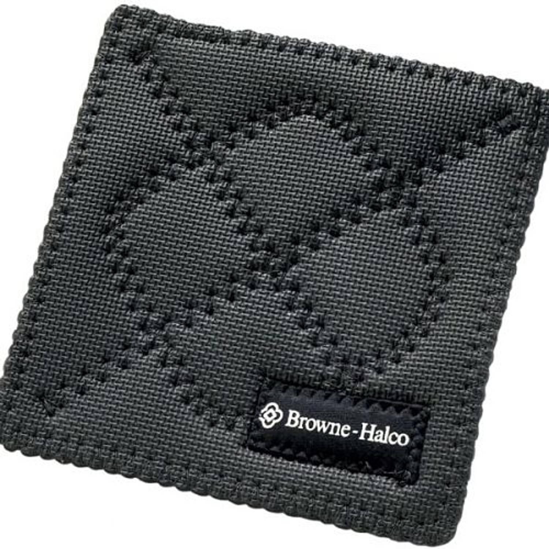 Pannenlap / onderzetter horeca hot pad - vierkant 17 x 17 cm, zwart - kitchengrips