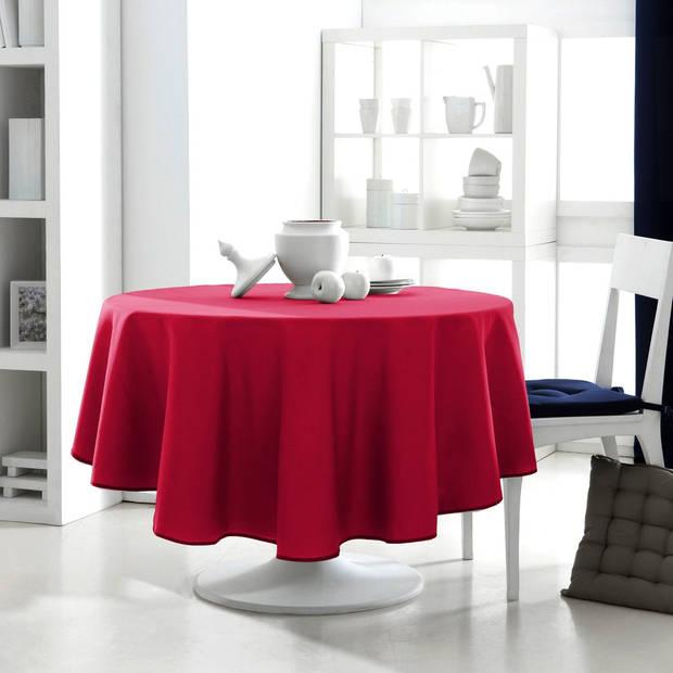 Today Rond Tafelkleed Rood - 180cm