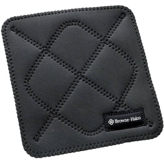 Pannenlap / onderzetter Horeca Hot Pad - Vierkant 25 x 25 cm, Zwart - Kitchengrips