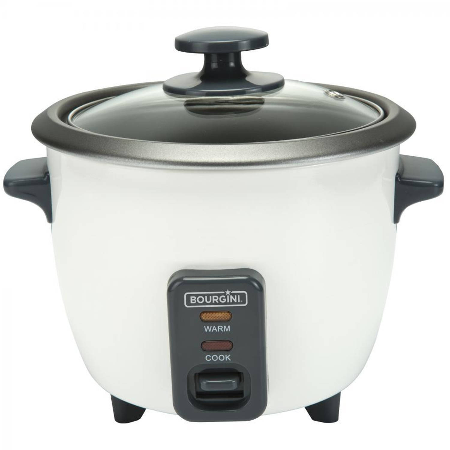 Bourgini Easy Rice Cooker 27.1000.00.00 - 0.6L