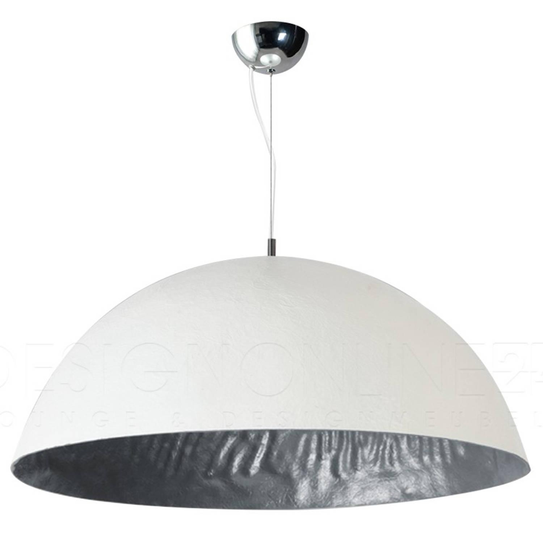 ETH Hanglamp Mezzo Tondo - Wit - Zilver - Ø70 Cm