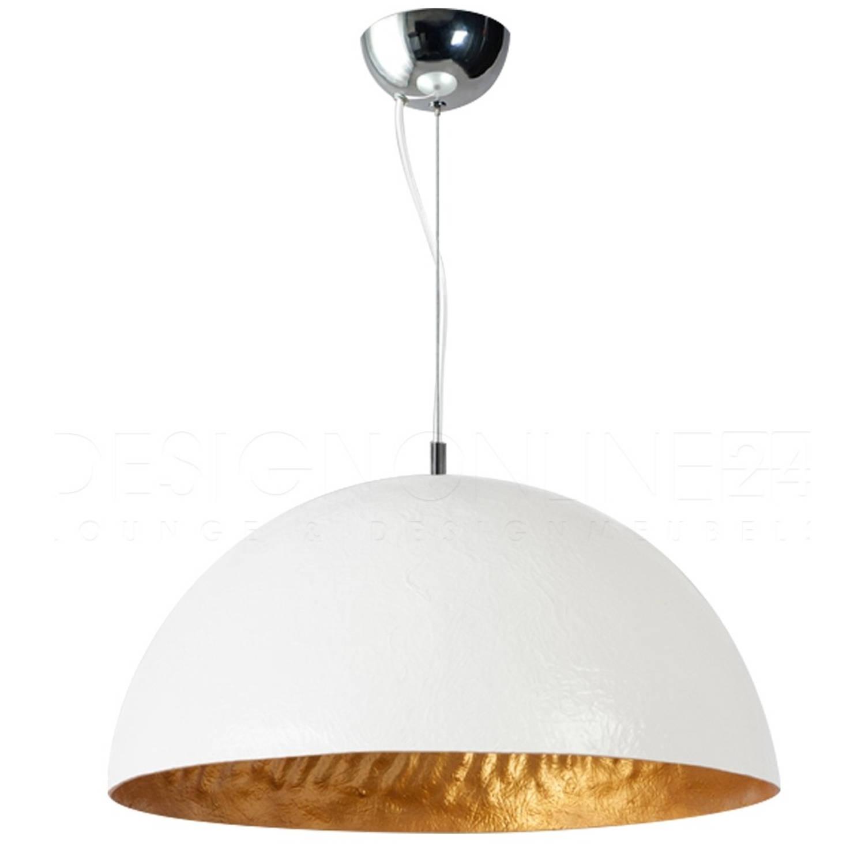 ETH Hanglamp Mezzo Tondo - Wit - Goud - Ø50 Cm