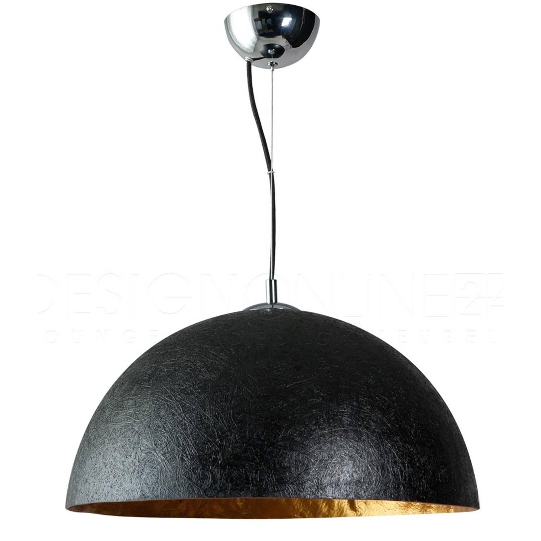 ETH Hanglamp Mezzo Tondo - Zwart - Goud - Ø50 Cm