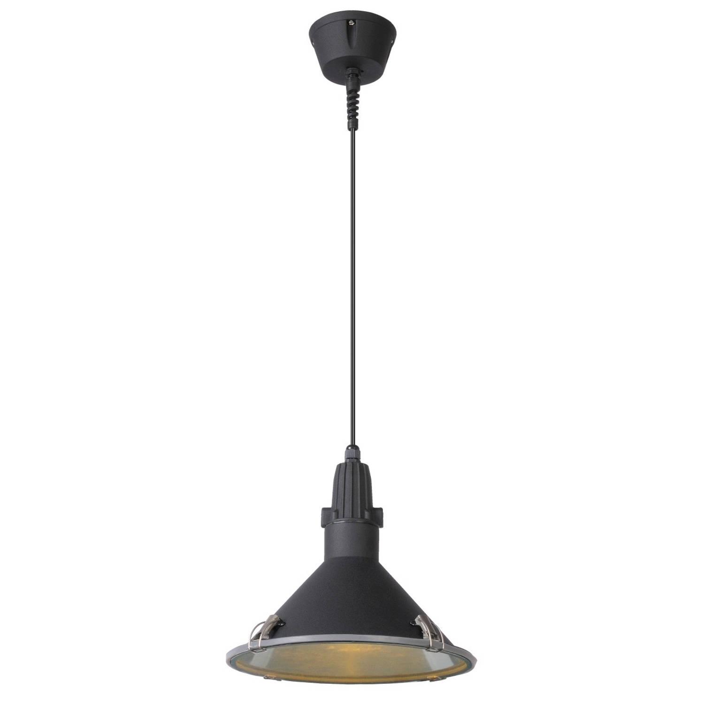 Lucide hanglamp tonga - ø25 cm - zwart