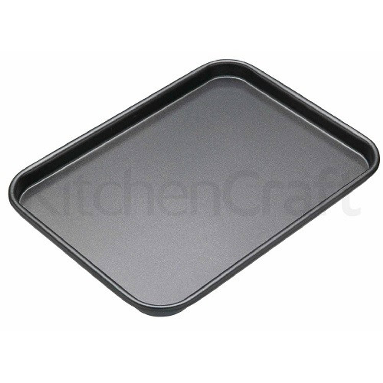 Platte bakvorm / bakplaat rechthoekig, 24 cm x 18 cm - Masterclass