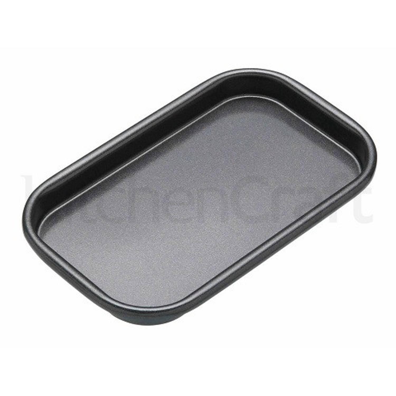 Platte bakvorm / bakplaat rechthoekig, 16.5 cm x 10 cm - Masterclass