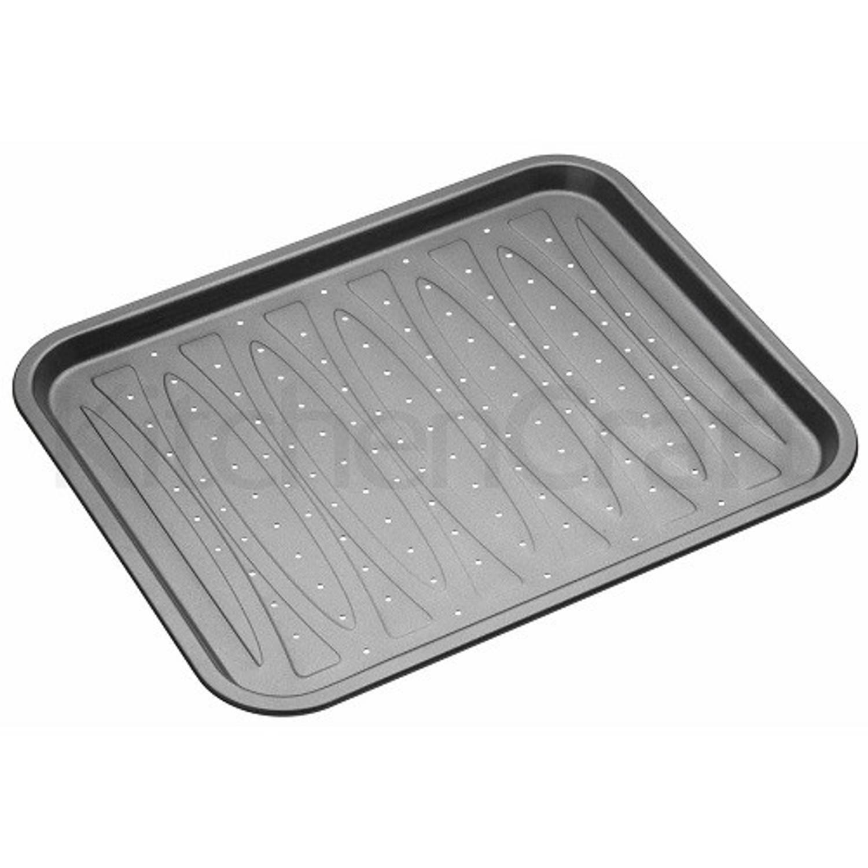 Platte bakvorm / bakplaat rechthoekig Geperforeerd, 39cm x 31,5cm - Masterclass