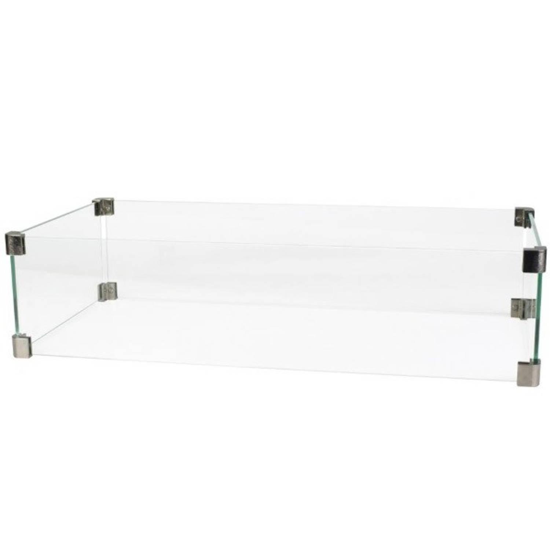 Cosi Glazen Ombouw Straight 65x30x17 Cm