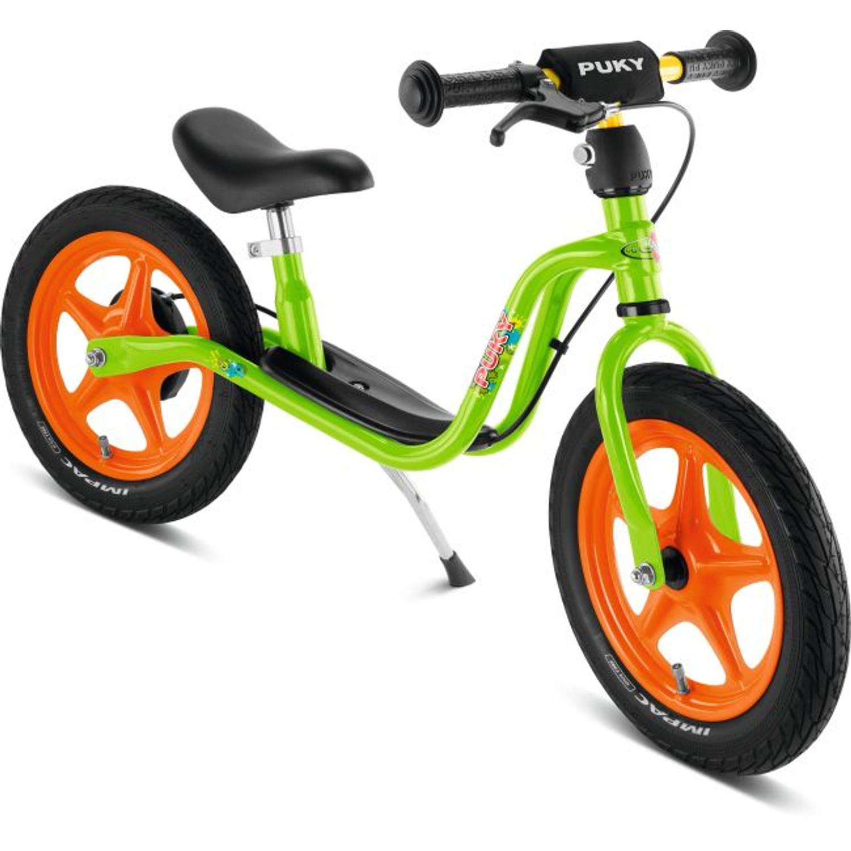 PUKY LR 1L Br Loopfiets met Handrem 12 inch - Groen / Oranje