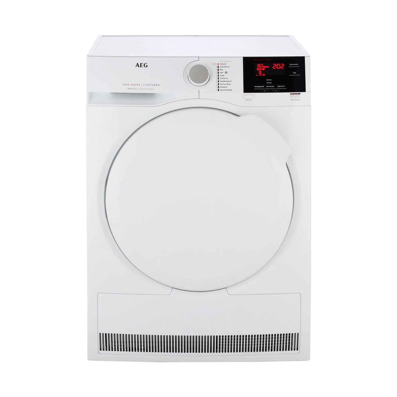 AEG T7DB83GP warmtepompdrogers - Wit