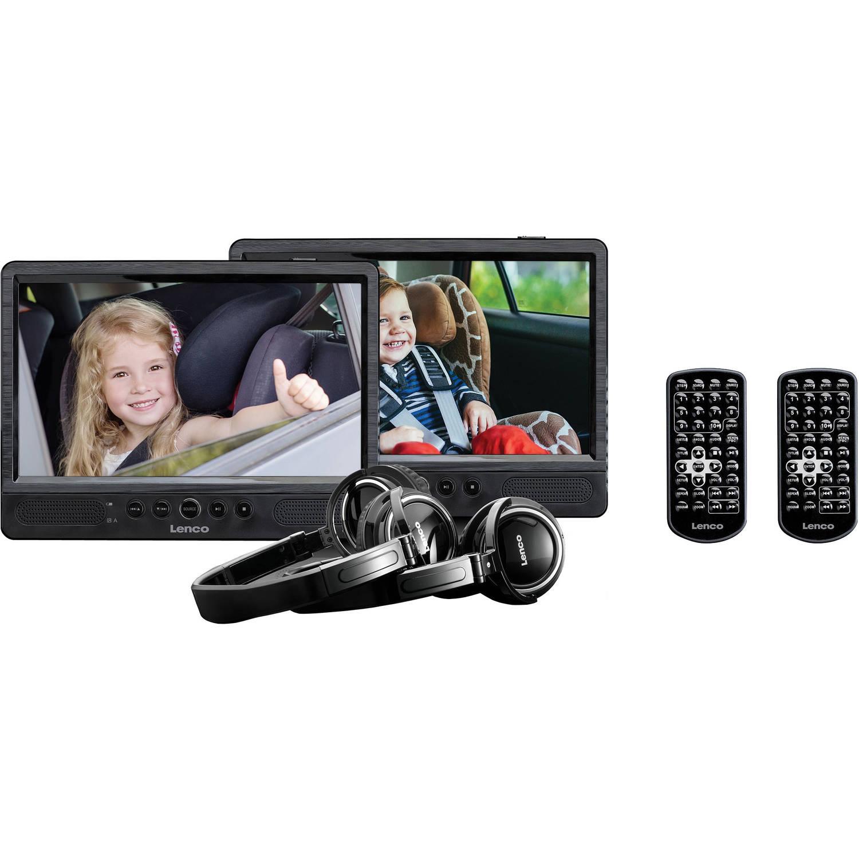 Dual Portable DVD-speler DVP-1045