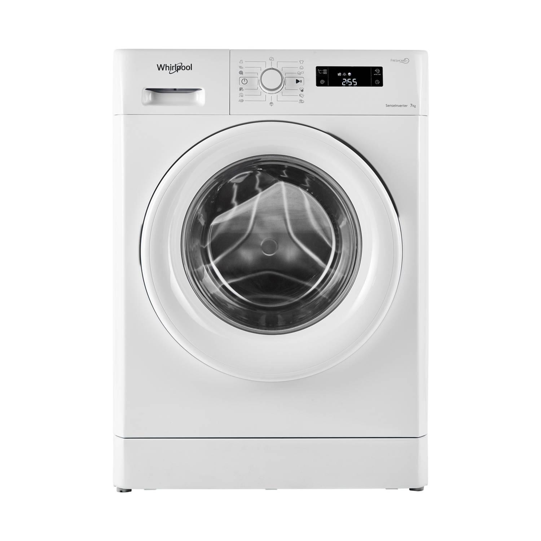 Whirlpool FWF71483W EU wasmachines - Wit / zwart