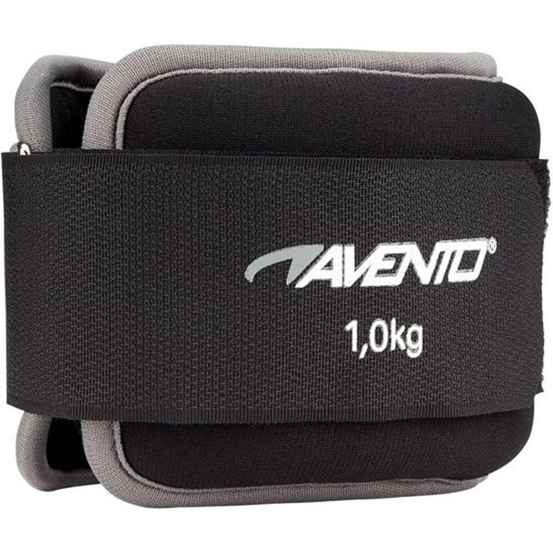 Afbeelding van Avento enkel- en polsgewichten 1 kg zwart 2 stuks