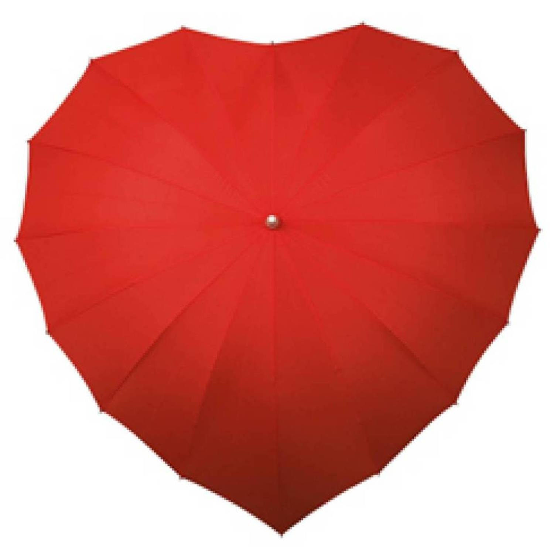 Impliva Hartparaplu Met Uv-bescherming (roze)