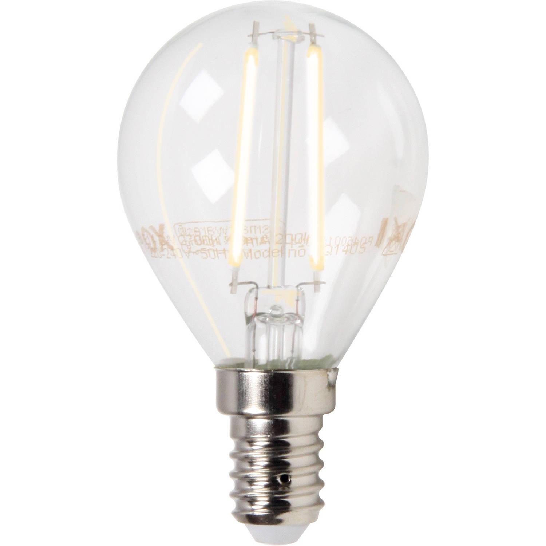LED bolvorm E14 2 Watt filament XQ1405