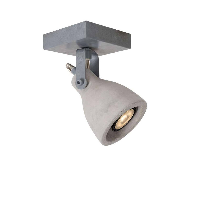 LUCIDE PLAFONDSPOT CONCRI-LED Ø9 DIMB. GU10 1X5W