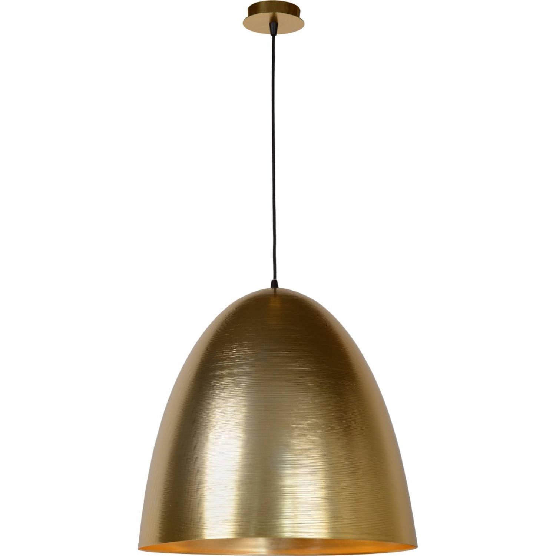 Lucide verstelbare hanglamp calais 1-lichts ø50 x h48 cm - metaal mat goud