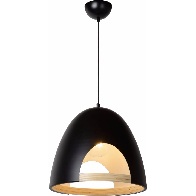 Lucide verstelbare hanglamp gaillon 1-lichts ø39 x h36 cm - metaal zwart