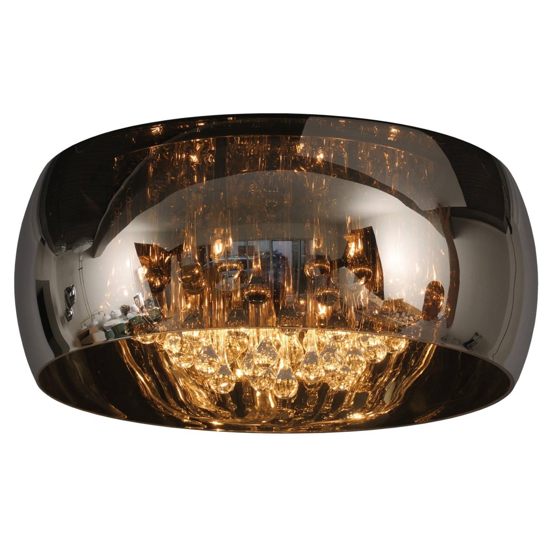 Lucide plafondlamp pearl - ø40 x h21 cm - glas