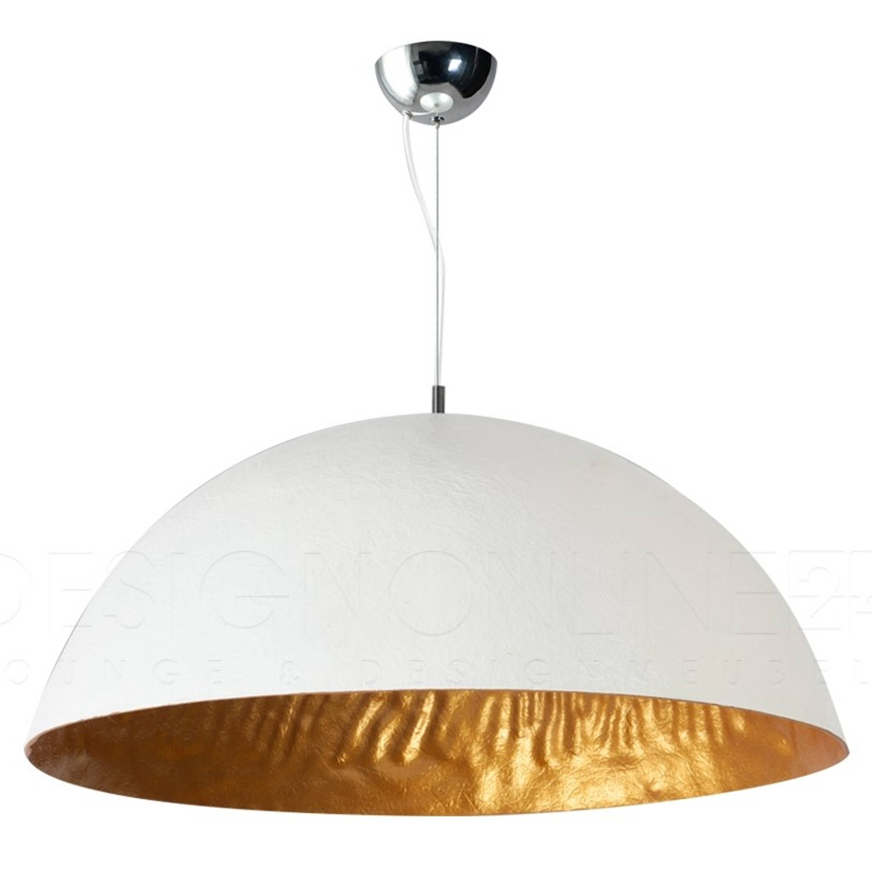 ETH Hanglamp Mezzo Tondo - Wit - Goud - Ø70 Cm