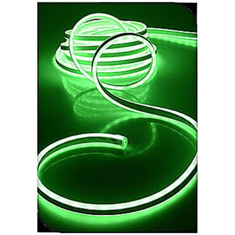 Lichtslang 300 neon smd led groen (5 meter)