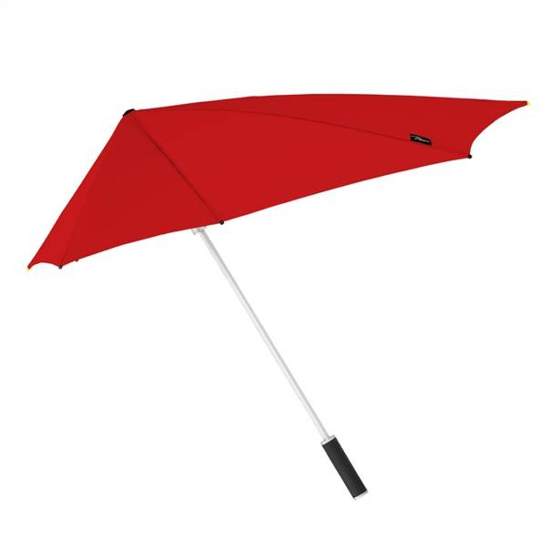 Korting Stormaxi storm paraplu rood