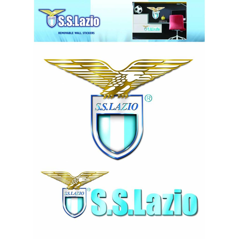 Lazio Roma Logo - Muursticker - 41 X 28 Cm - Multi