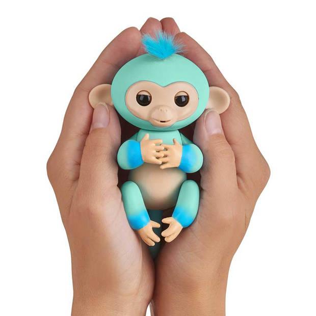 Fingerlings Eddie tweekleurig - groen/blauw