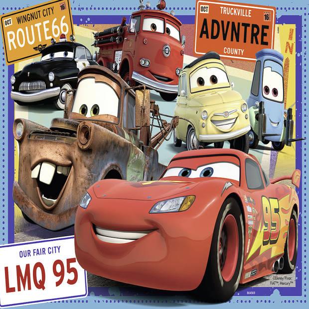 Ravensburger puzzel Disney Cars - 2 x 24 stukjes
