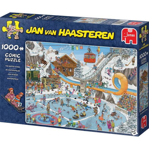 Jan van Haasteren puzzel de winterspelen - 1000 stukjes