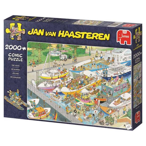 Jan van Haasteren puzzel de sluizen - 2000 stukjes