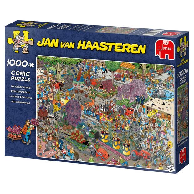 Jan van Haasteren puzzel flower parade - 1000 stukjes